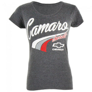 Chevrolet Camaro V-Neck Tee - Heather Dark Gray