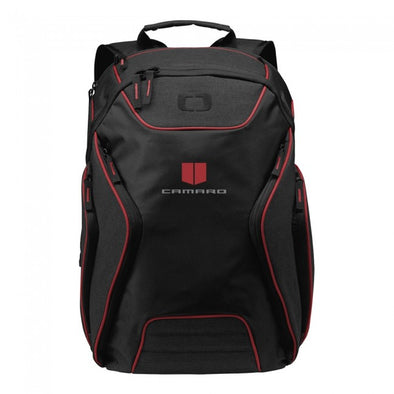 Camaro Ogio® Backpack - Red/Heather Gray