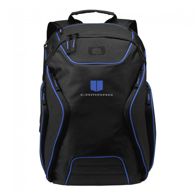 Camaro Ogio® Backpack - Blue/Heather Gray
