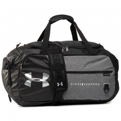 Camaro UA Storm Medium Duffel-Graphite/Black