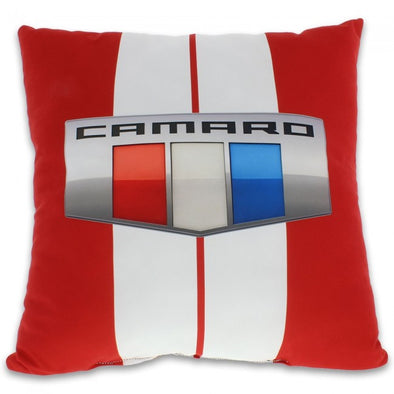 Camaro Decorative Pillow - Red