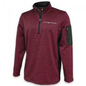 Camaro Roadway Quarter-Zip Fleece - Maroon/Graphite
