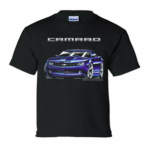 2010 Camaro Concept Black Youth Tee