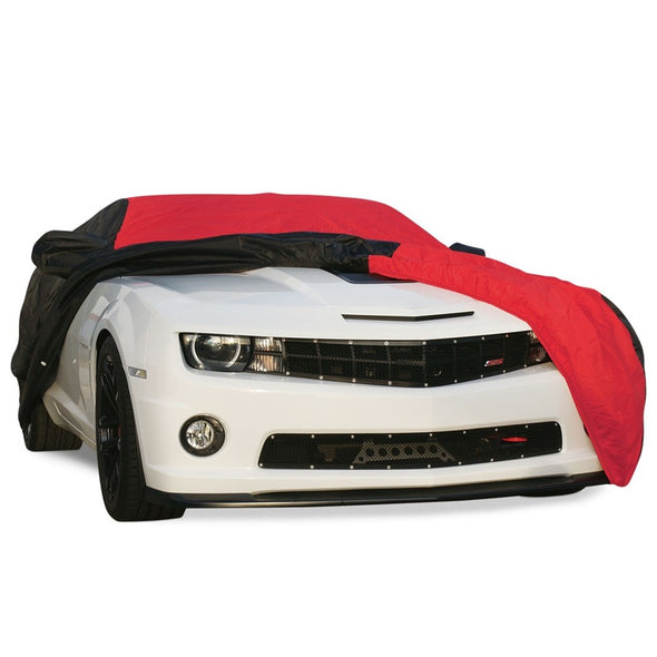 Camaro Ultraguard Car Cover - Indoor/Outdoor Protection : Red/Black