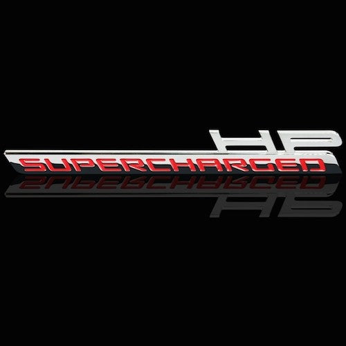 2010-2014 Camaro Custom HP and Supercharged Billet Chrome Badges