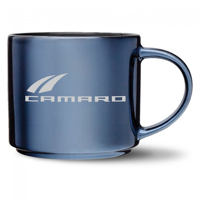 Camaro Metallic Finish Mug - Gunmetal/Black