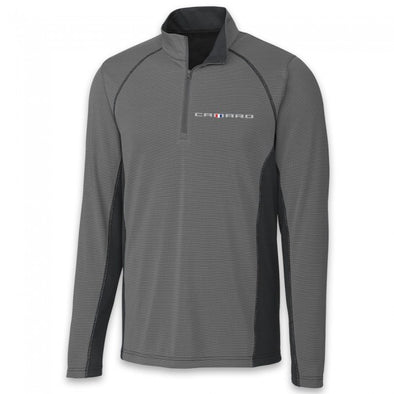 Camaro Colorblock Half Zip Fleece - Gray/Black