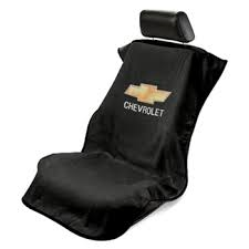 Chevrolet Bowtie Seat Cover Black