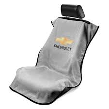 Chevrolet Bowtie Seat Cover Grey