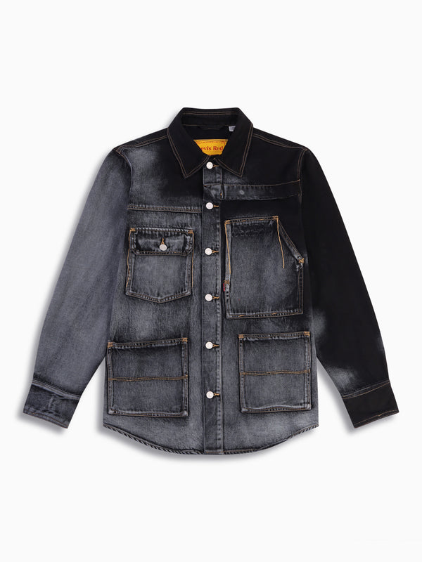 FENG CHEN WANG X LEVI'S OVERSIZED DENIM JACKET