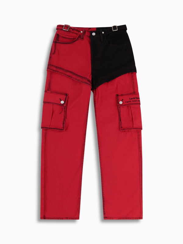 FENG CHEN WANG X LEVI'S TWILL HIGH WASTED JEANS
