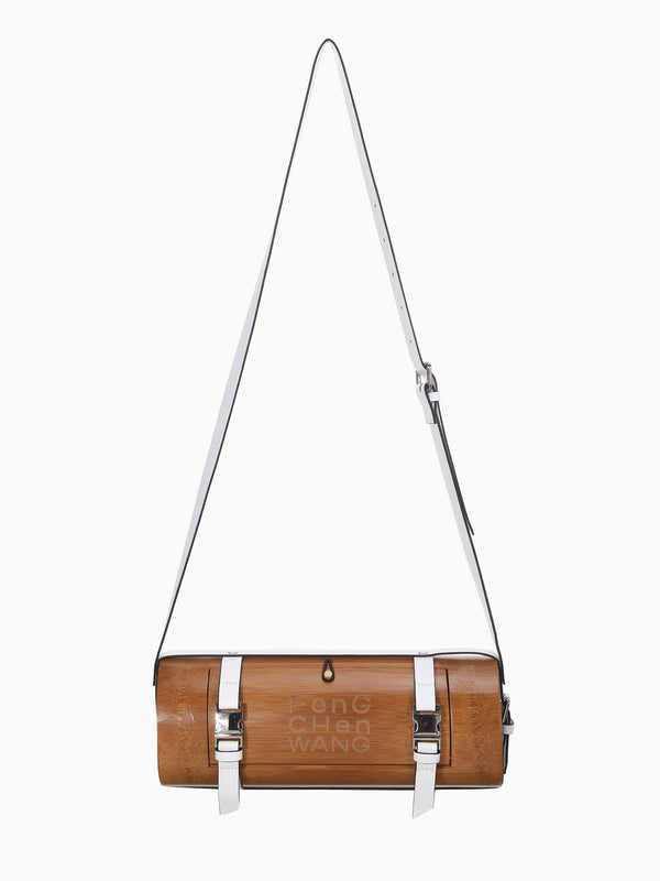 BAMBOO BARREL SHOULDER BAG