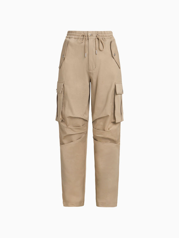 SIDE PLEAT CARGO TROUSER