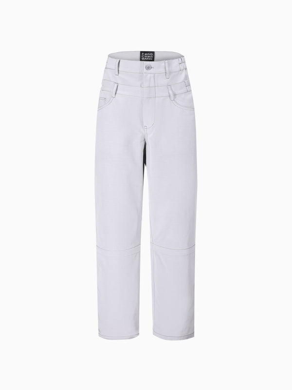 DOUBLE WAIST TROUSERS