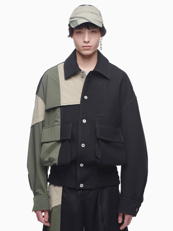 NYLON PANELLED JACKET