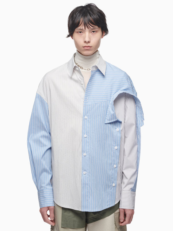 LAYERED COTTON SHIRT