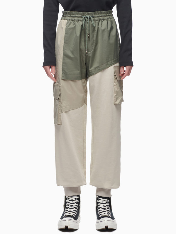 PANELLED SWEATPANTS
