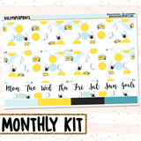 City Girl // Monthly View Kit