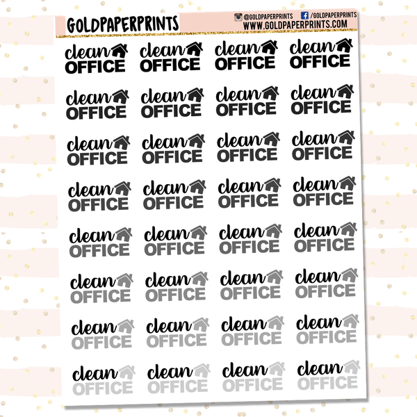 Clean Office Sheet