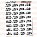 Date Night Sheet
