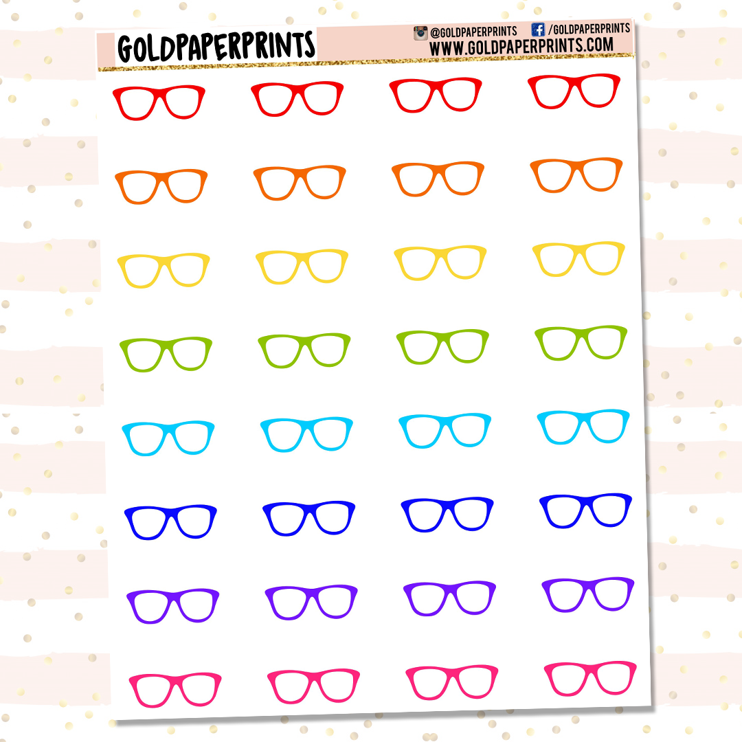 Glasses Icon Sheet