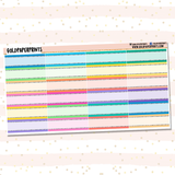 Glitter-Lined Labels Sheet