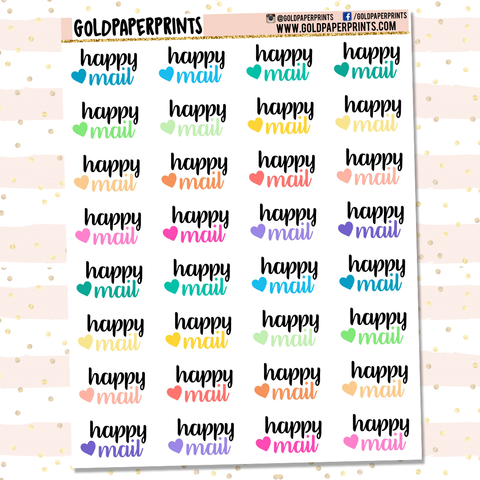 Happy Mail Icon Sheet