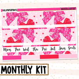 Hugs and Bows // Monthly View Kit