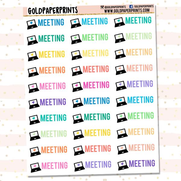 Meeting Sheet