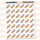 Mini Pencils Sheet