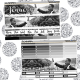 MLK Jr January // Monthly View Kit