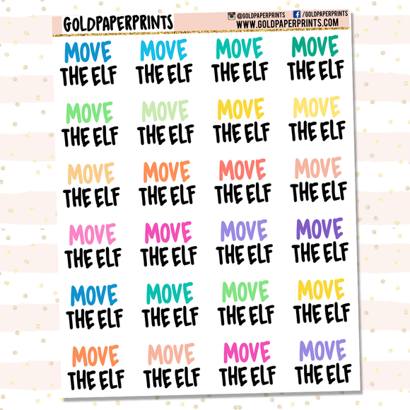 Move The Elf Sheet
