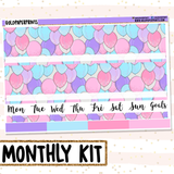 Party Balloons // Monthly View Kit