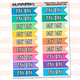 Pay Day Flags Sheet