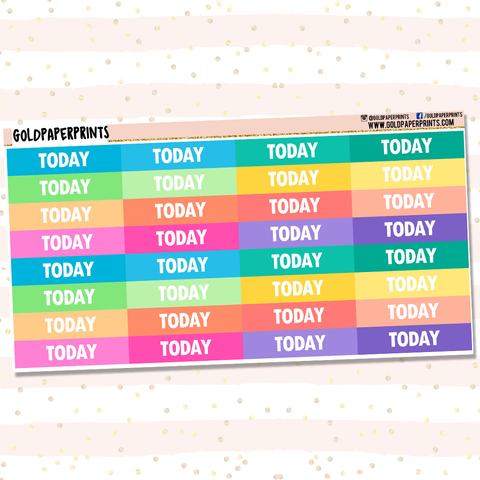 Today Headers Sheet