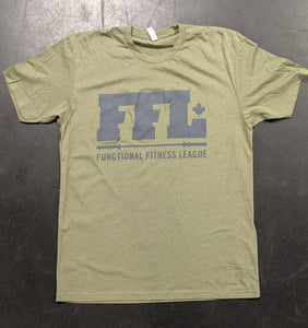 Men's Shirt - FFL Green on Green