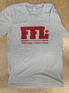 Mens Shirt - FFL White & Red