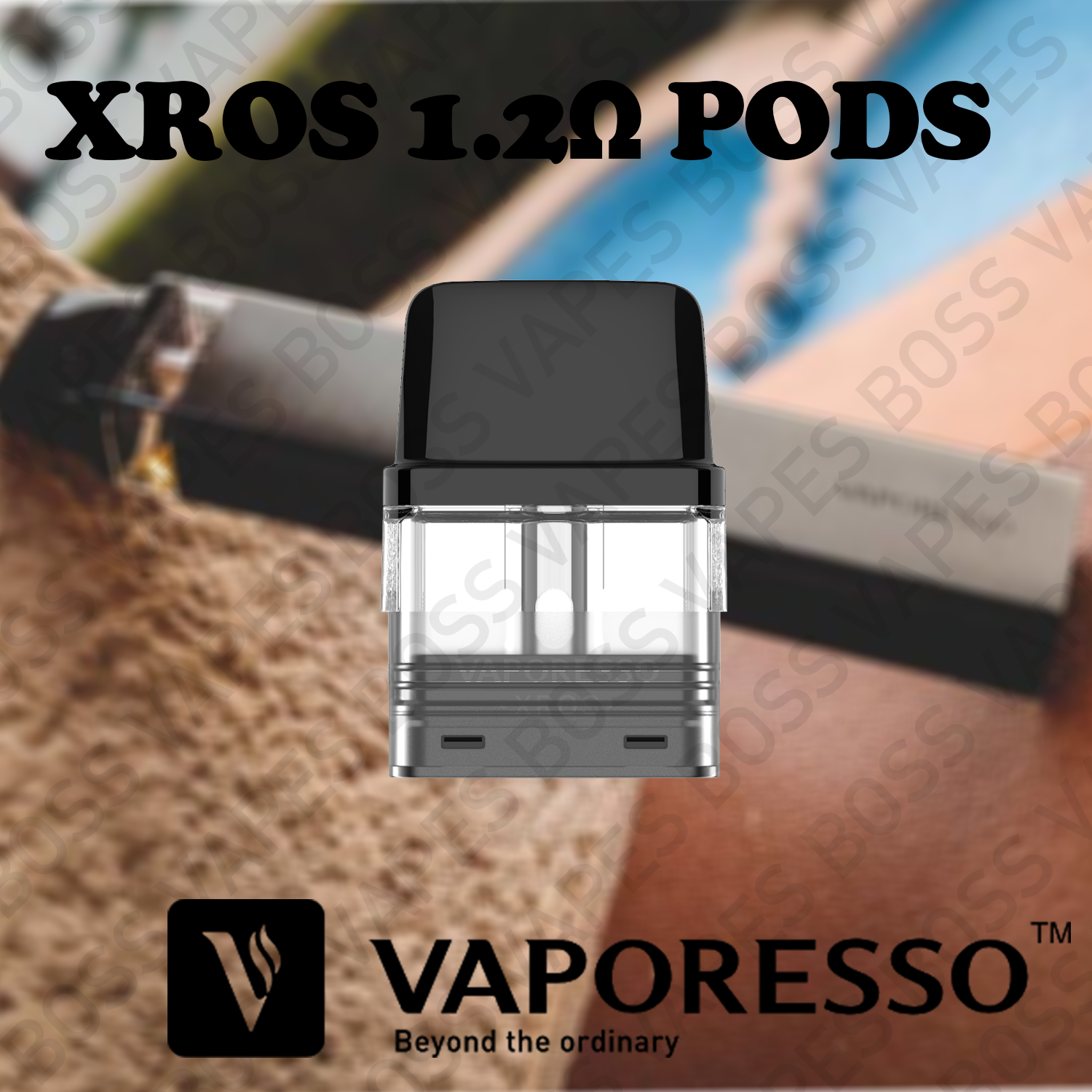 VAPORESSO XROS REPLACEMENT POD (Priced Individually) - Boss Vapes