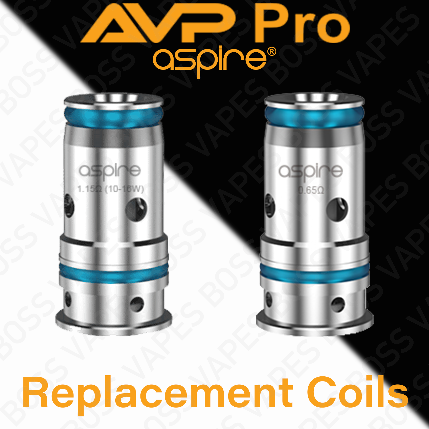 ASPIRE AVP PRO REPLACEMENT COIL (Priced Individually)