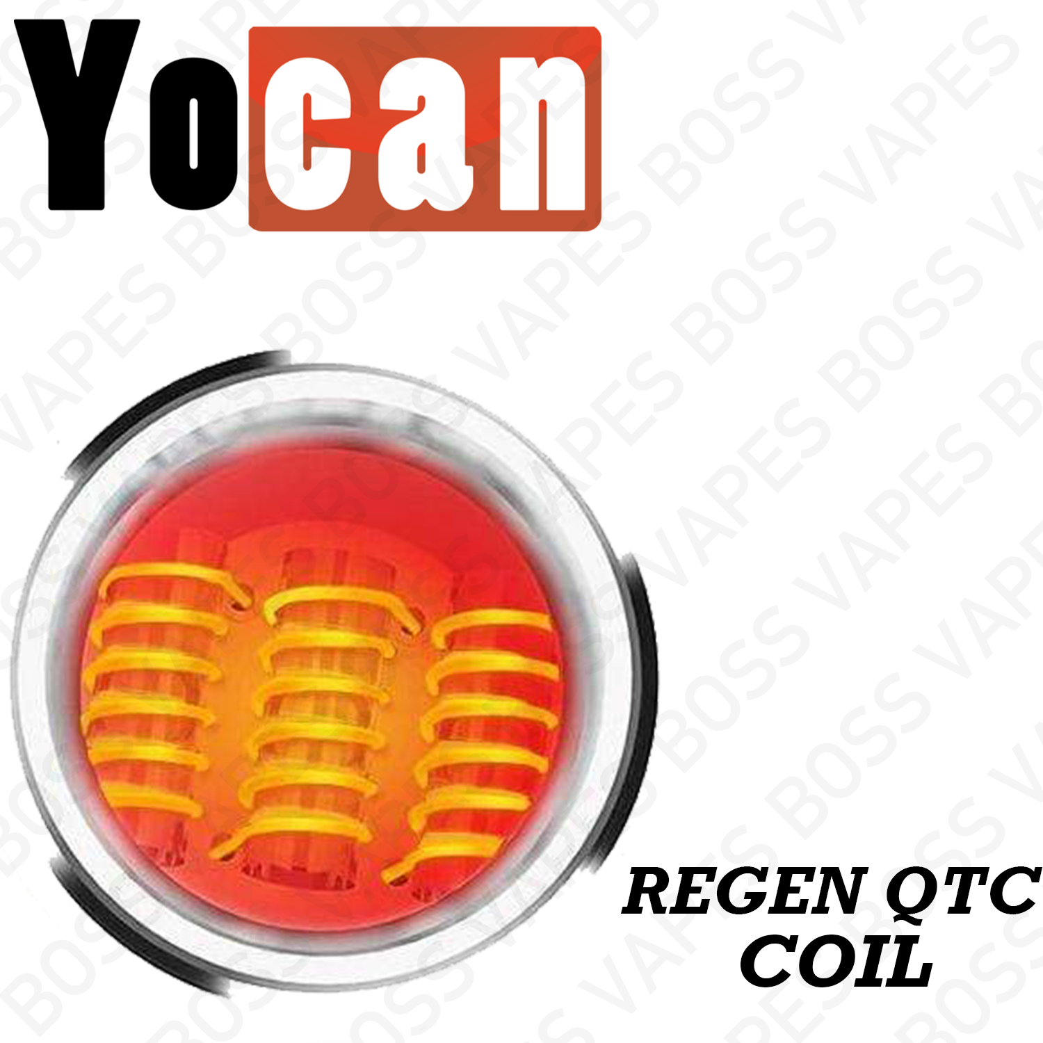 YOCAN REGEN QTC COIL - Priced Individually - Boss Vapes