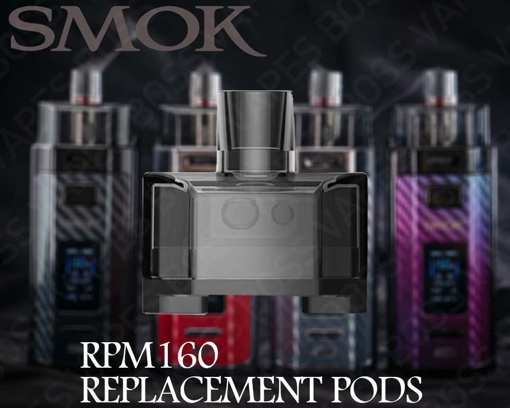 SMOK RPM 160 EMPTY POD (Price Per Pod)