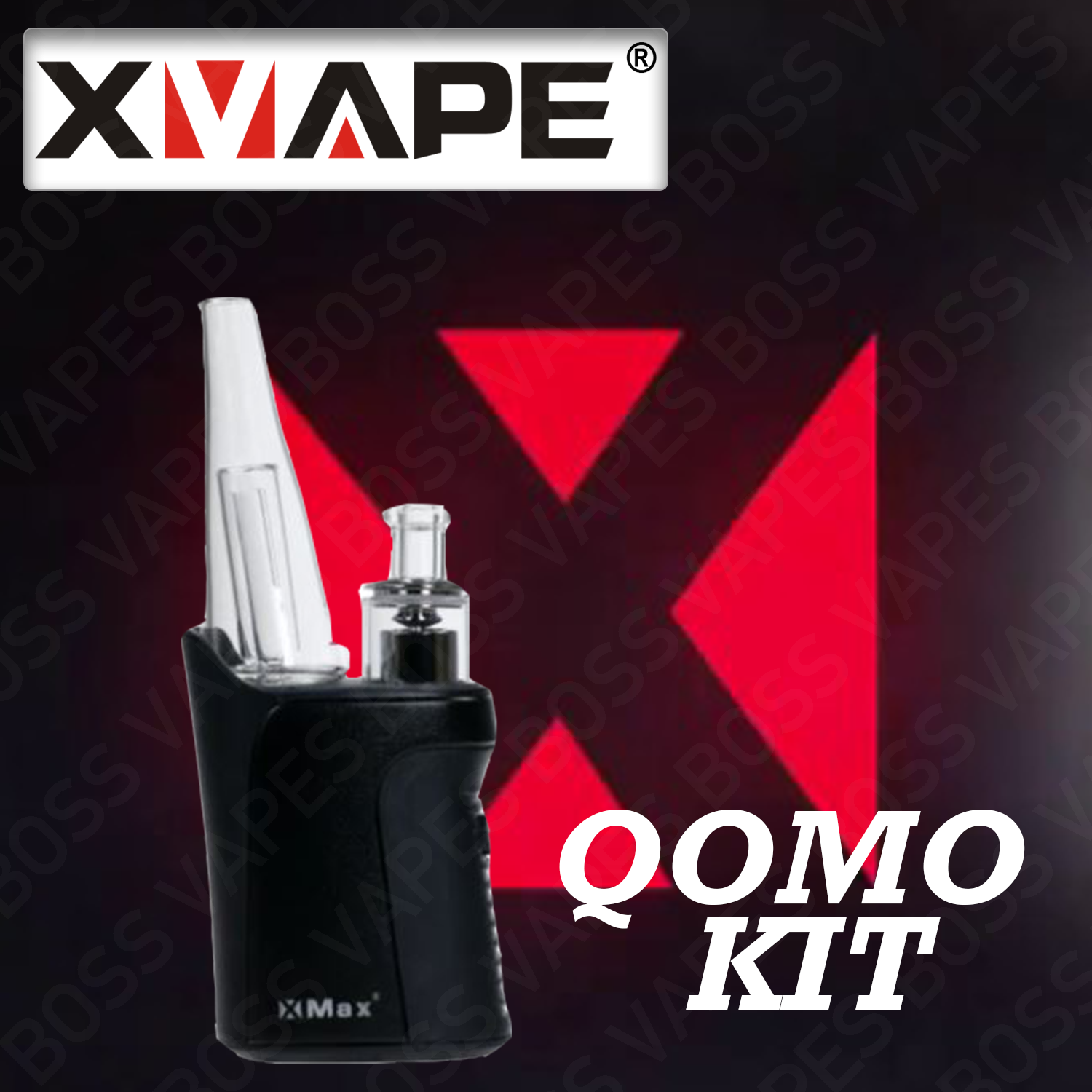 XMAX QOMO KIT - Boss Vapes