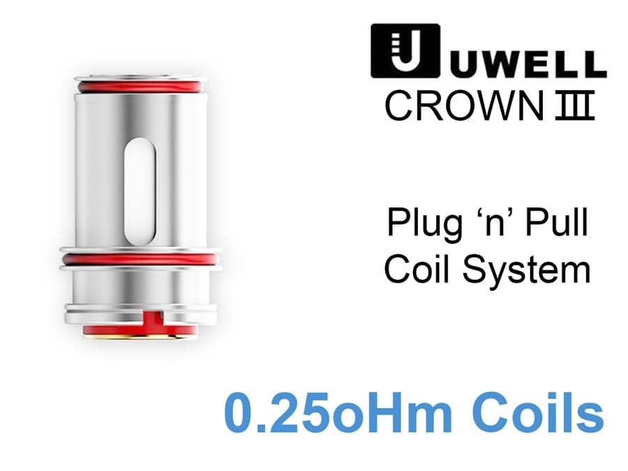Uwell Crown III Coils (Price Per Coil) - Boss Vapes