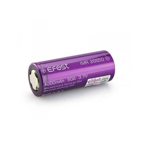 Efest 26650 Battery (Price Per Battery) - Boss Vapes