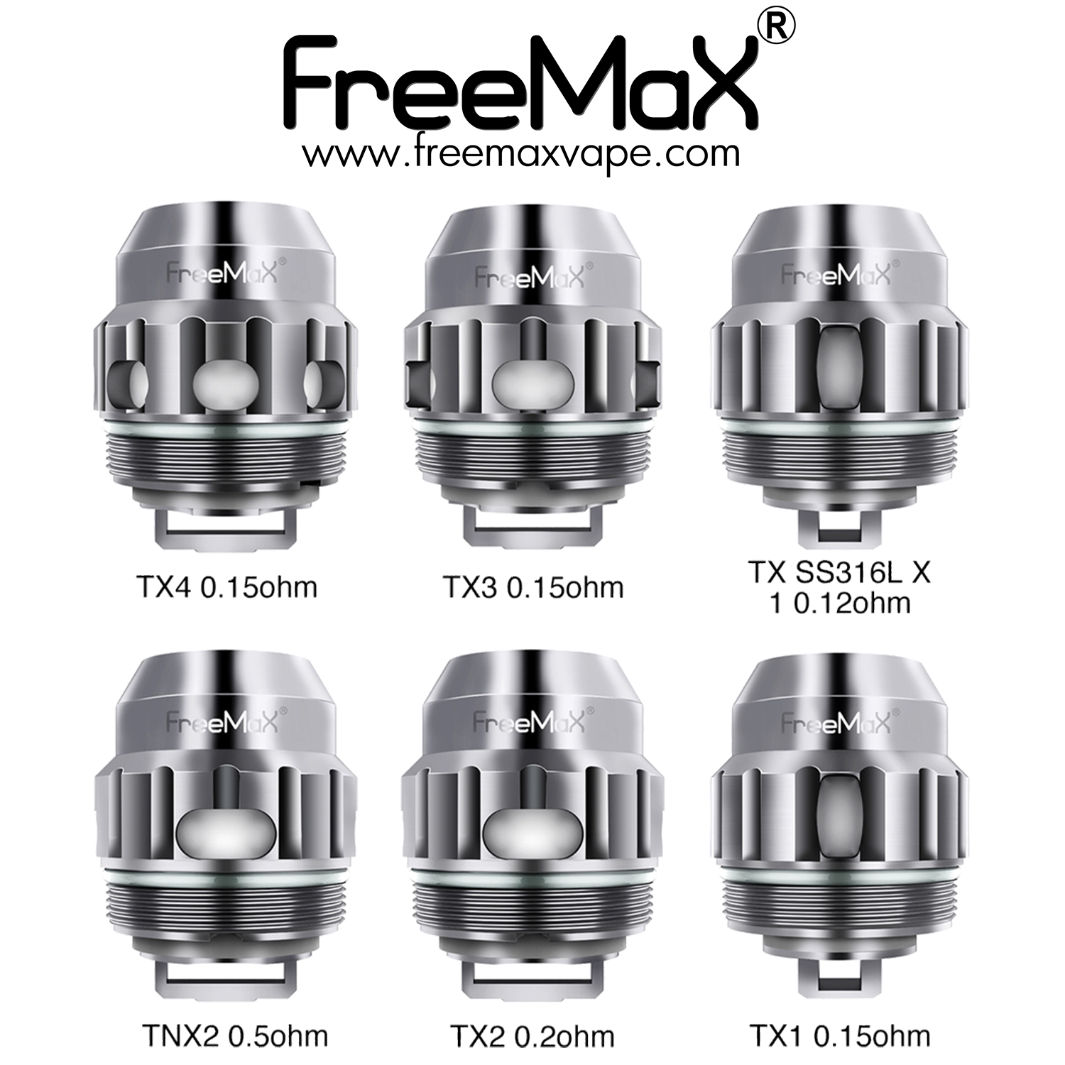 FREEMAX M TX MESH COIL (Price Per Coil) - Boss Vapes