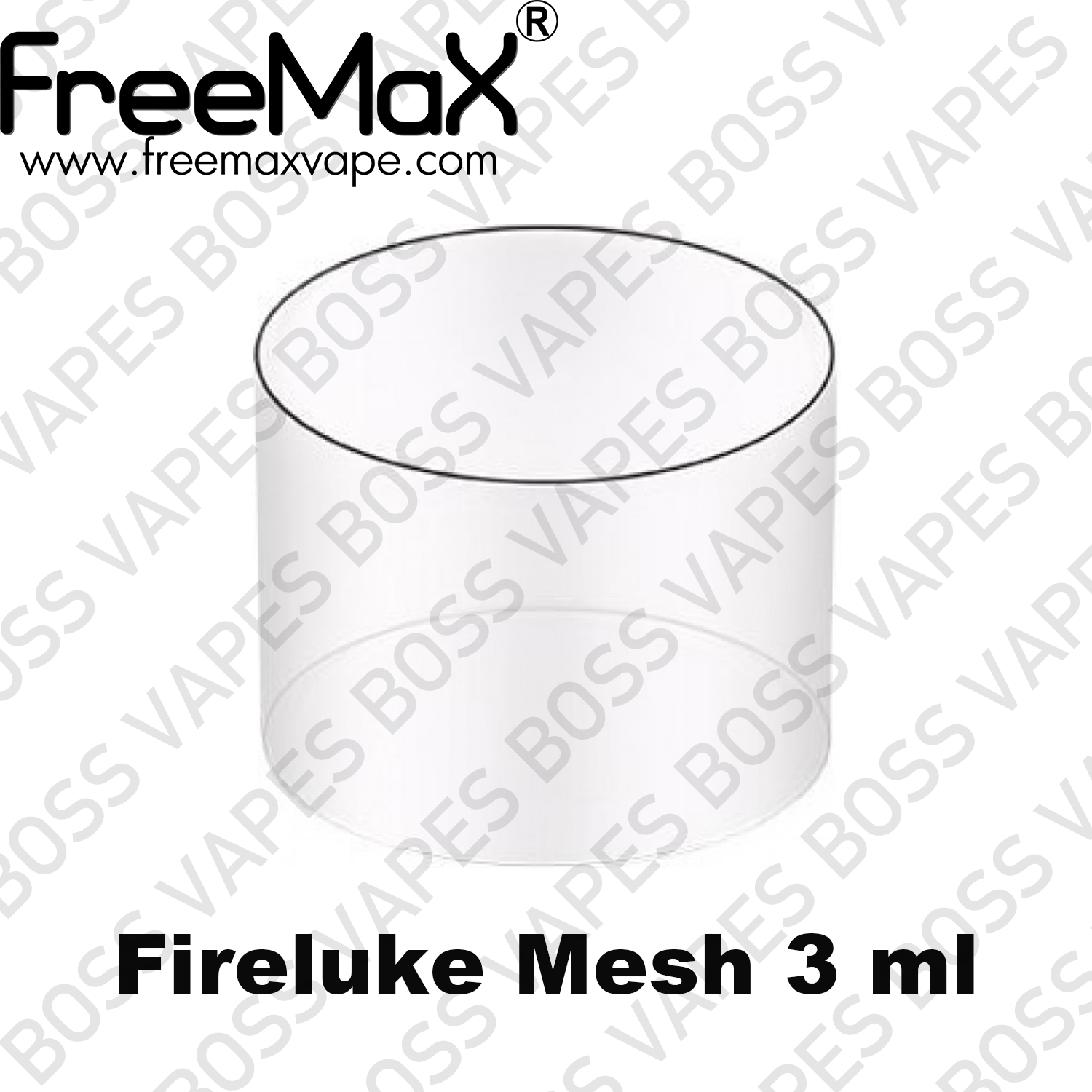 FreeMax Replacement Glass - Boss Vapes