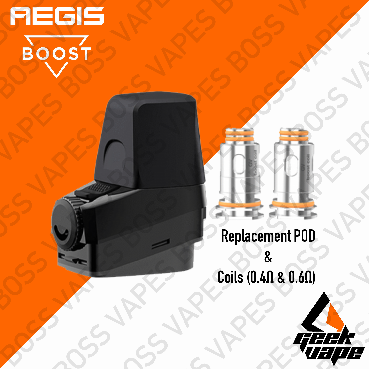 Geekvape Aegis Boost Replacement Pod (Price per Pod) - Boss Vapes