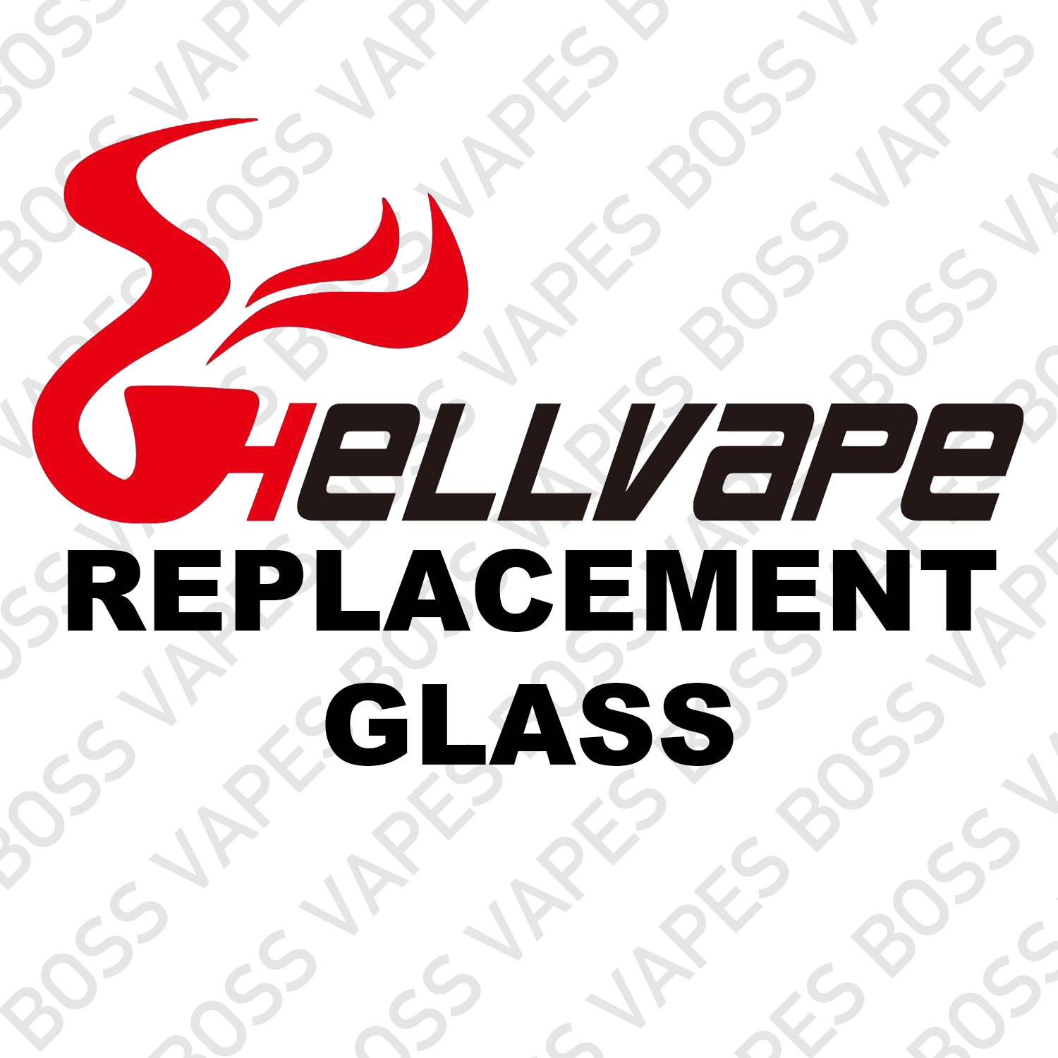 Hellvape Replacement Glass - Boss Vapes