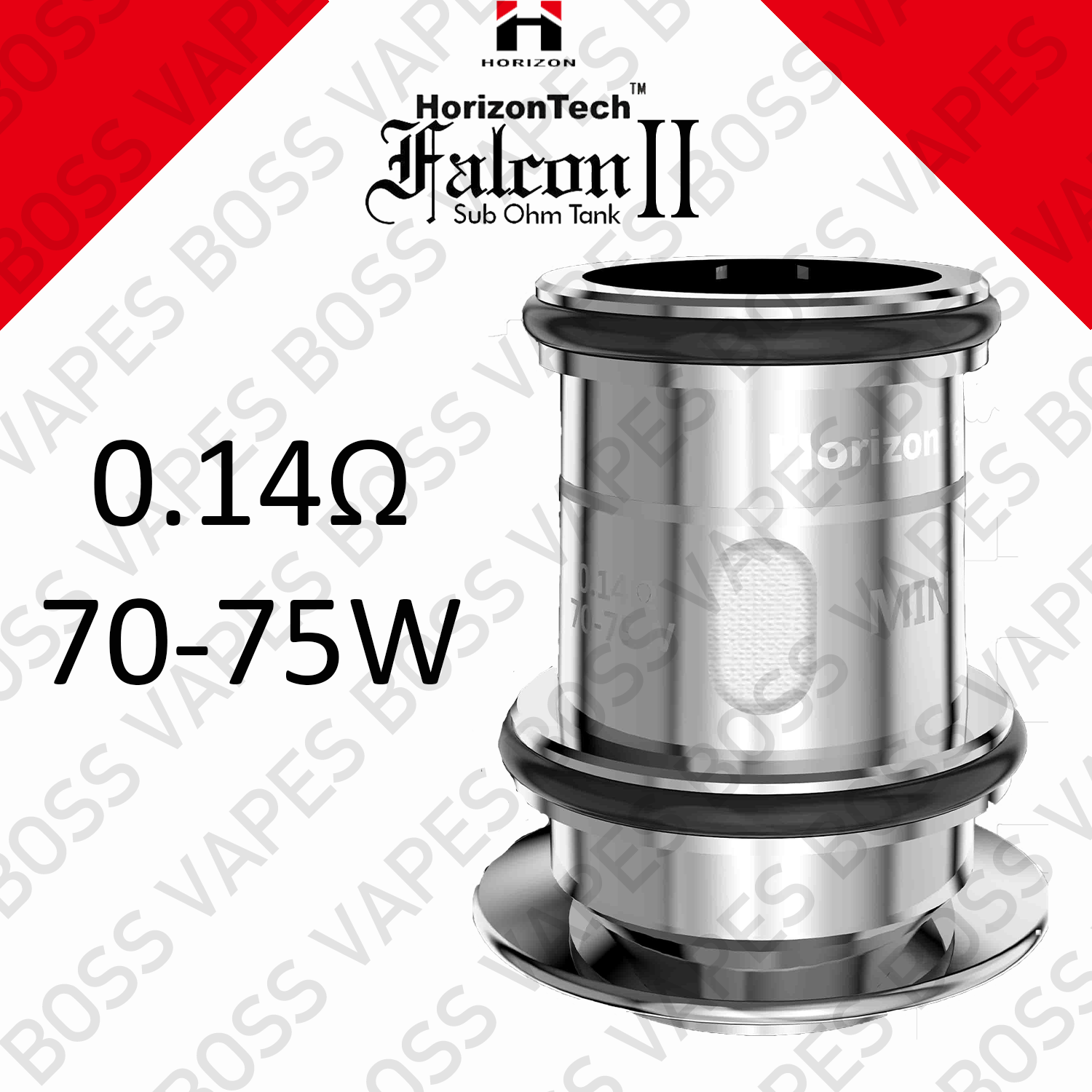 HORIZONTECH FALCON 2 REPLACEMENT COIL (Price Per Coil) - Boss Vapes