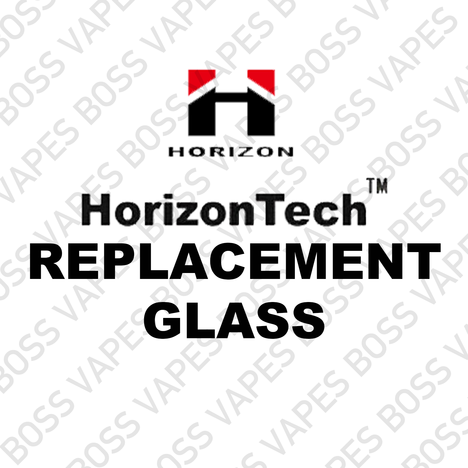 HorizonTech Replacement Glass - Boss Vapes